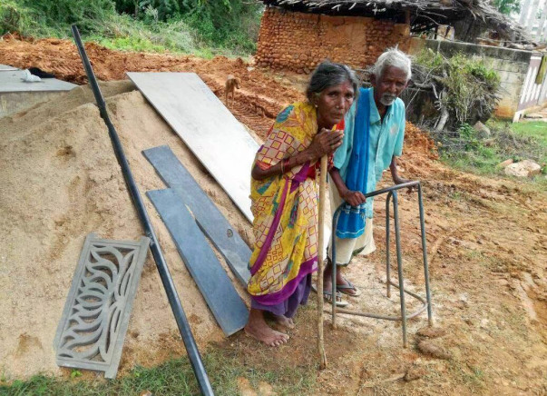 This Aged Couple from Remote AP Village Needs Your Support