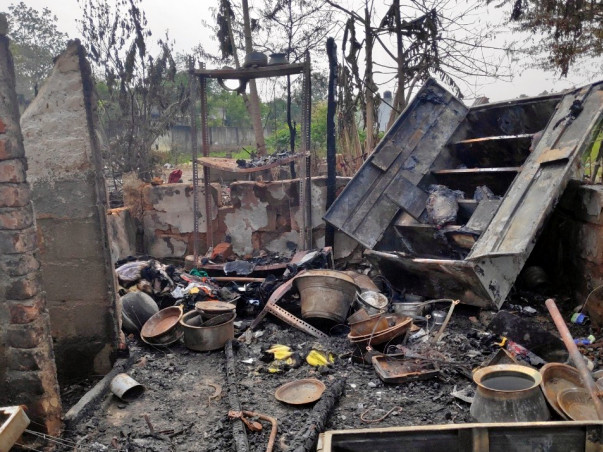 Support For The 25 Families Who Lost Their Home In A Fire Accident