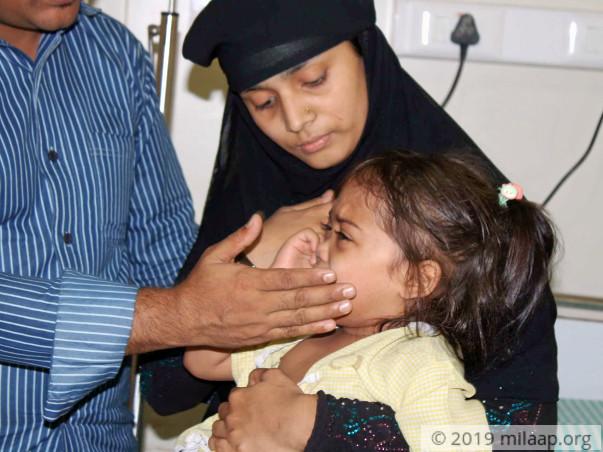 Sumaiya needs your help to undergo her treatment