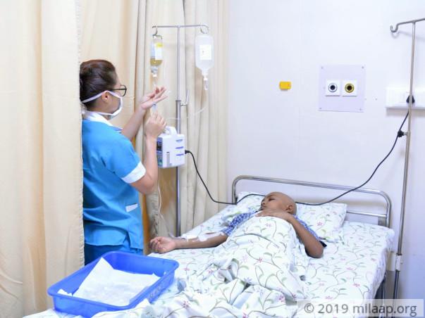 Help H D Gowda Fight Acute Lymphoblastic Leukemia