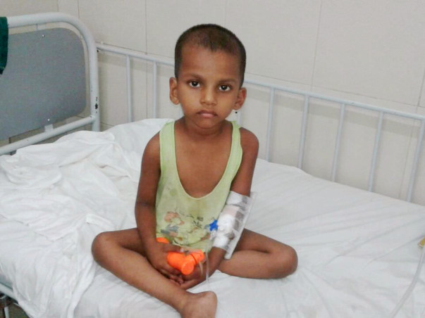 Help 4-Year-Old Sai Fight Against Cancer