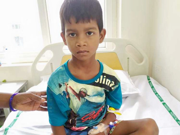 Help 7 Year Old Surya Fight Dengue Fever!