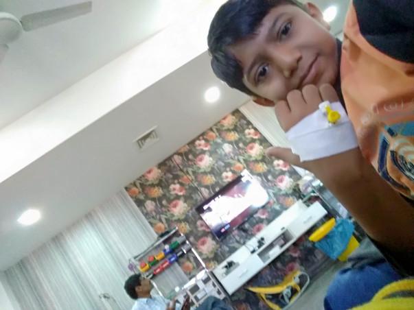 Help 12 Year Old Madhvik Get Bone Marrow Transplant