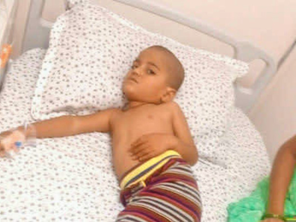 4-Year-Old Aswak Can Barely Eat Because Of His Failing Pancreas