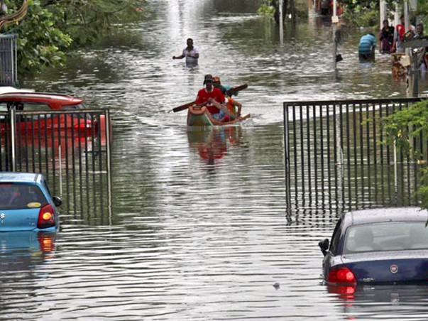 I am fundraising for Chennai 2015 floods from all people currently staying outside the city.