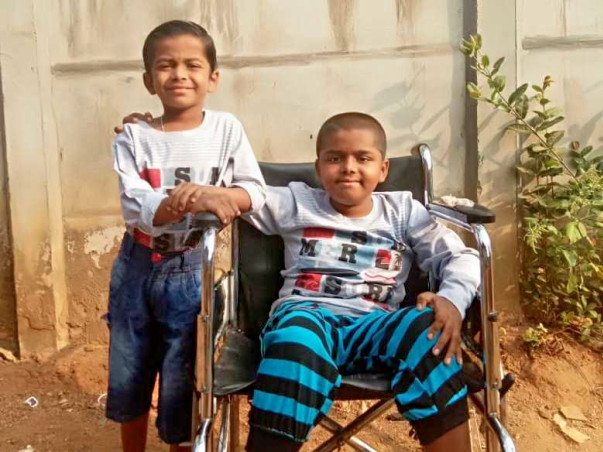 Help Aryan Fight Muscular Dystrophy