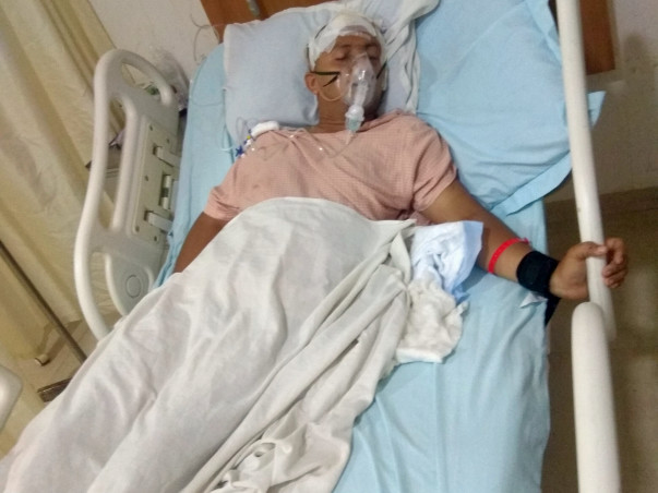 Help My Brother Pradipta Mallick to Recover from Brain Homerrage