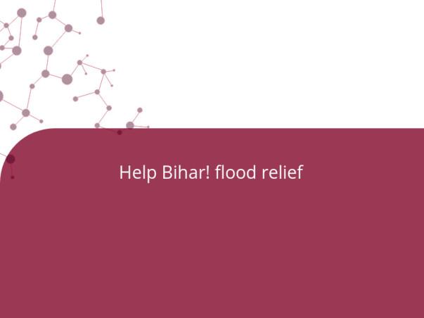 Help Bihar! flood relief