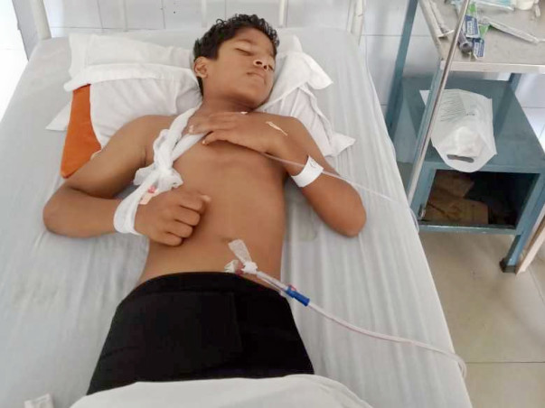 Help 12 Years Old Rudra Recover From A Major Accident