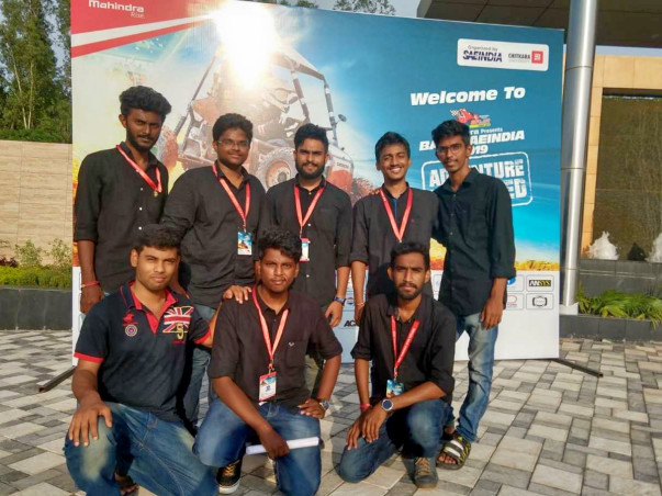 Provide Support To Our BAJA Team- The Mechanical Autodidacts