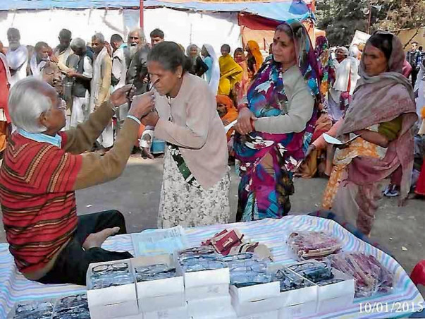 Health Camp for Gangasagar Pilgrims