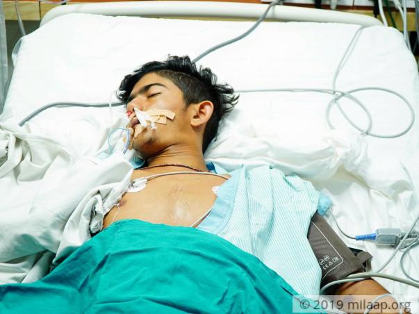 Help Ravi Kumar Recover From Dengue