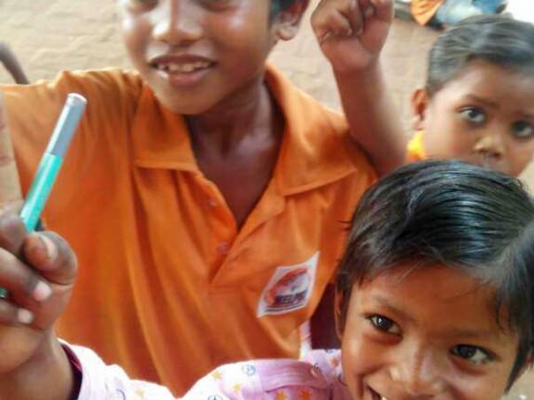 Education for 250 poor street kids @Delhi