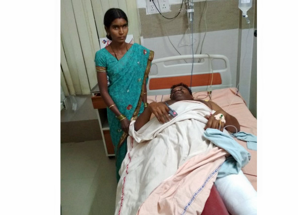Help Rajesh for Surgery in hip bone replacement for 2 legs.