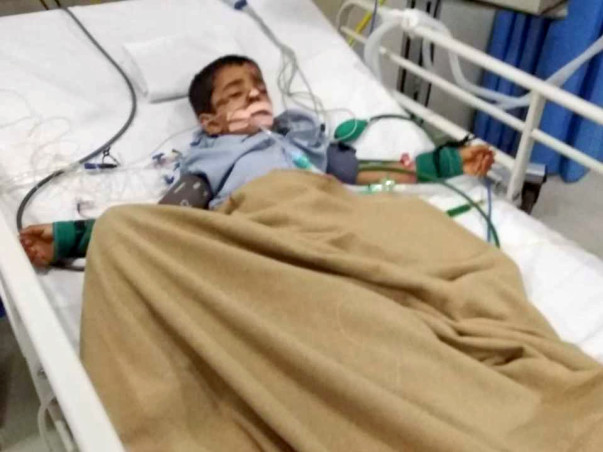 Help my Son recover from Rta with blunt abdomen trauma