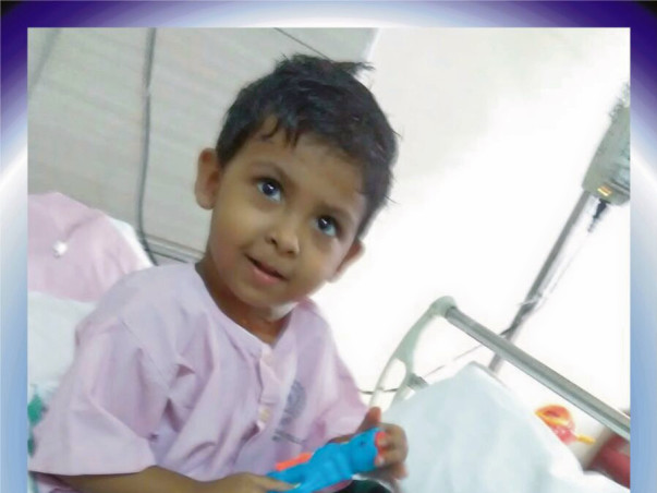 Unemployed Father's 3-Year-Old Is Battling Cancer, Needs Urgent Help