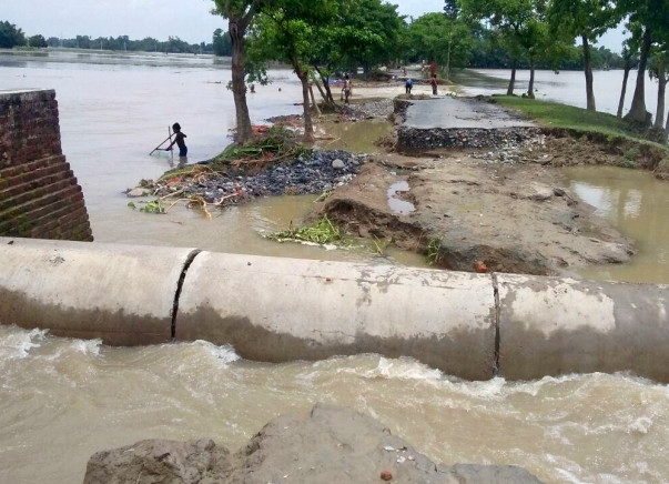 Help For the worst Flood in the recent history of Amour Baisa,Purnia