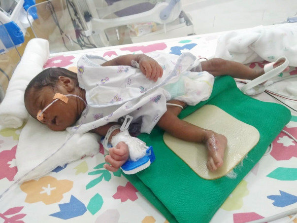 Help! Need financial support for Twins of Sanchit to Recover From NICU