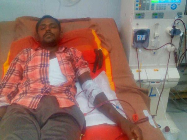 Help Arul A Daily Wage Labourer Undergo Kidney Transplant