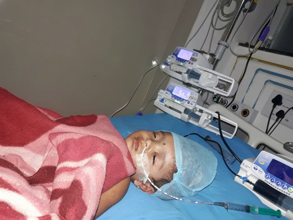 Save 2 Year Old Aaradhya Who Is In Coma And On Ventilation Support.