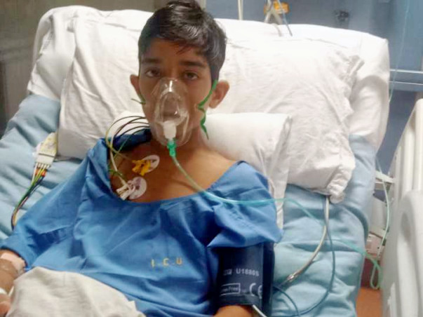 14 Years Old Vivek Nath  Needs Your Help To Recover Lymphoma