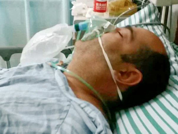 Baljinder Kumar Suffered  Brain Hemorrhage In China