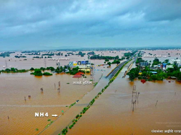 Help Flood Affected People From Kolhapur-Sangli