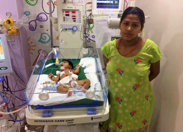 Poonam's Baby Is Fighting To Live - But This Time There Is Hope