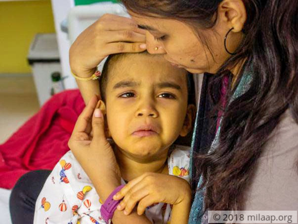 Mother Is Desperate To Save Her 3-Year-Old From Severe Liver Disease