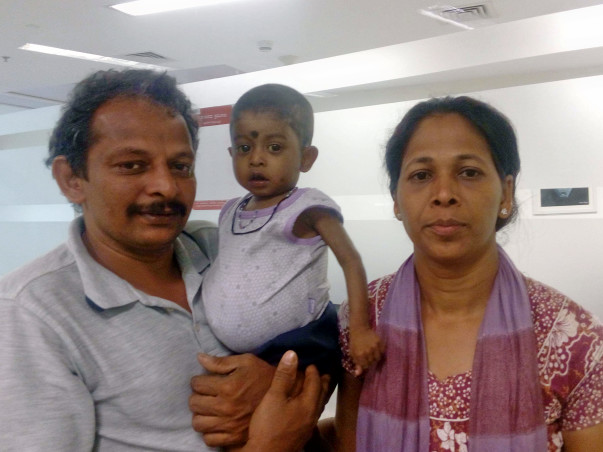 Help 1-year-old Girish undergo liver transplant