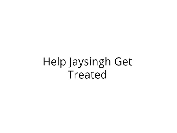 Help Jaysingh Fight Guillain-Barré Syndrome