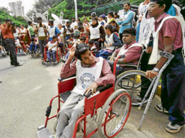 Help disabled people and poor child