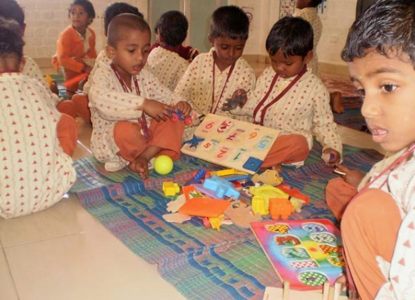 Fundraising towards educating Rural India - Support Isha Vidhya