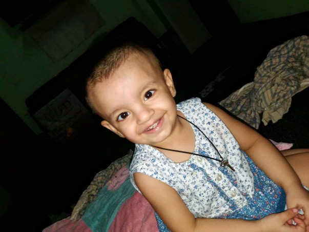 A baby can hear if you support. Cochlear implant need urgently