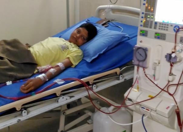 Help DINESH GUPTA for  kidney transplantation