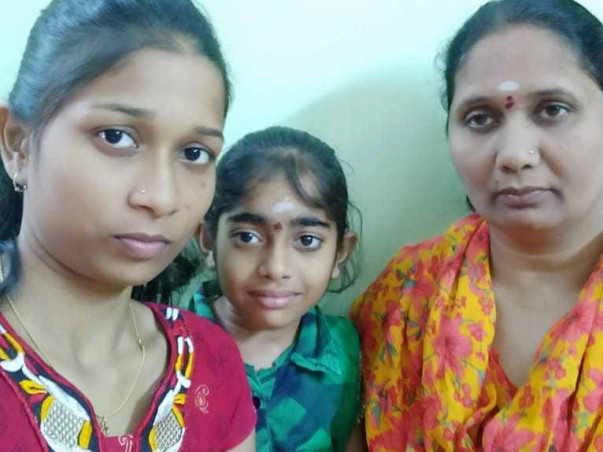 Help Lekha Study as Family Lost Everything in Sister's Kidney Surgery