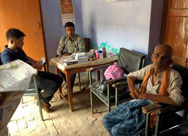 Helping us in running a tele-medicine facility in a rural village