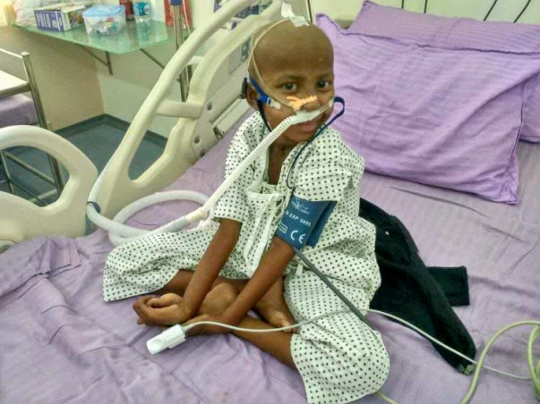 Help Sanuthi Recover from Severe Infections Post BMT