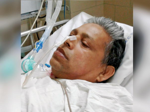 Help Ranjit Fight Cronic Inflammatory Demyelinating and Septicemia