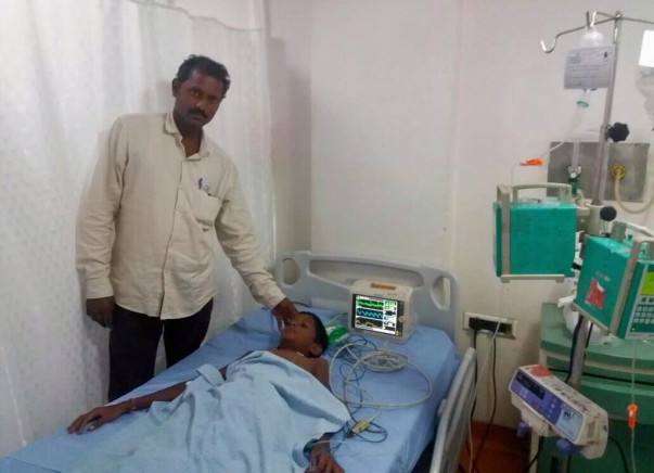 11-year-old Bhargav urgently needs a liver transplant