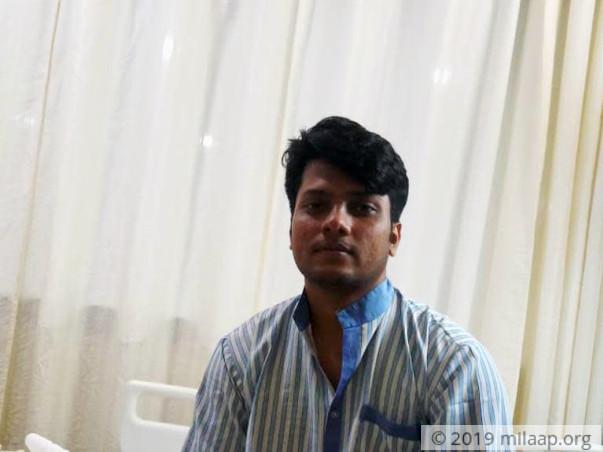 Sanjoy Kr Das needs your help to fight blood cancer