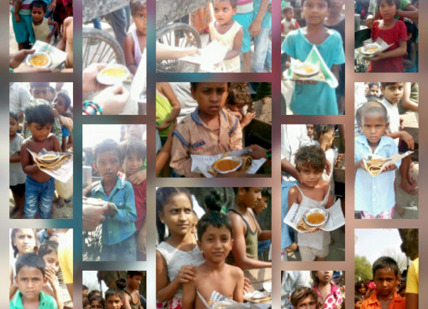 Feed one lakh hungry children in Delhi