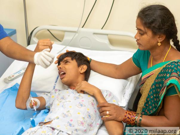 Varahala Naidu needs your help
