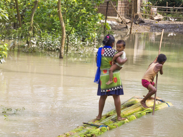 Help Us Provide Relief in Flood Affected Areas in Assam.