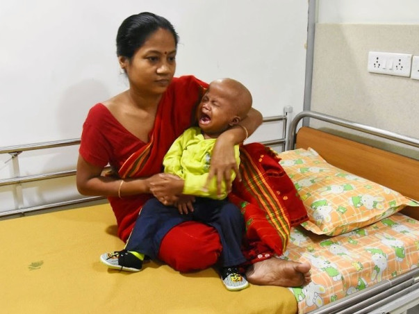 2 year old Kaushik's mother is struggling to pay for his Chemo.