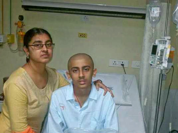 A 15 years old boy(Soumodeep Roy) suffering Blood cancer .