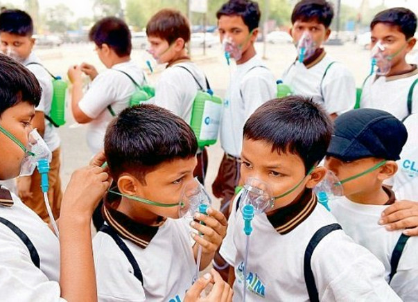 Save Million Delhi Kids from Choking-Dont make them wear mask for life