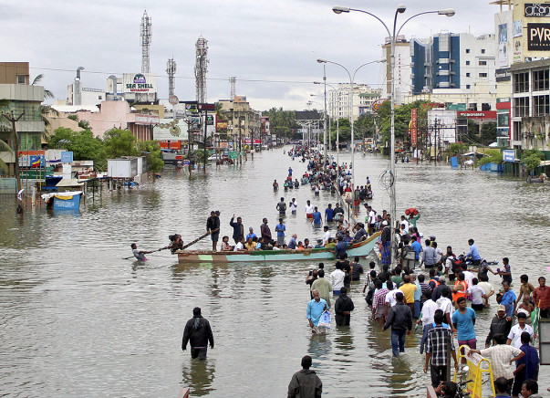 I am fundraising to namma Chennai Relief Fund