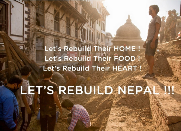 I am fundraising to rebuild Nepal