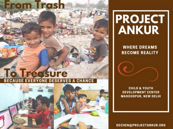 Delhi slum kids need you